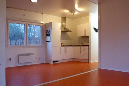 Woonunit de Luxe interieur inkijk keuken