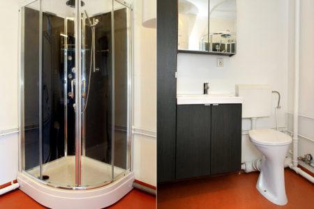 Woonunit de Luxe interieur badkamer